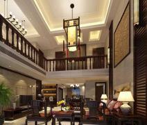 中式风格楼中楼装修效果图欣赏