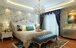 一套精美的美式别墅室内装修效果图