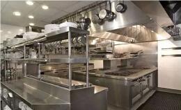 简洁明亮的商用厨房设计装修图片欣赏