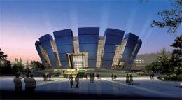 气派的市体育馆设计装修图片欣赏