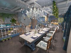都江堰咖啡厅装修设计