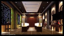 古典博物馆陈列室设计效果图欣赏