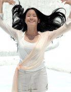 明星广告:清纯美人林嘉欣代言潘婷