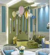 武汉香水湾600平售楼处软装设计