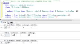 SQL Server 之 子查询与嵌套查询