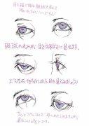 【教程】动漫人物眼睛画法