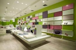 纽约Shoebox鞋专卖店设计效果图欣赏