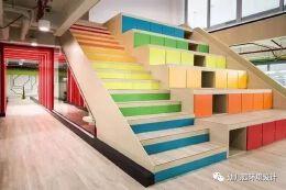 幼儿园楼梯、小二层阶梯的设计全在这里