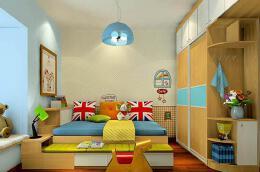 儿童房手绘效果图——积极的心理暗示