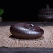 陶瓷故事创意个性带盖烟灰缸可爱作品