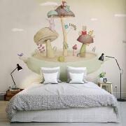 13款精美儿童房手绘墙绘设计欣赏