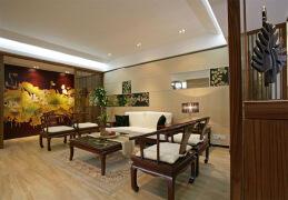 一组精美的客厅中式效果图