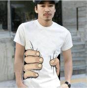 一款创意T恤设计欣赏----被抓