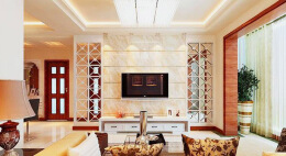 客厅隔断墙设计方式 客厅隔断墙如何装饰!