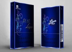 利群烟盒设计炫蓝包装设计图片欣赏