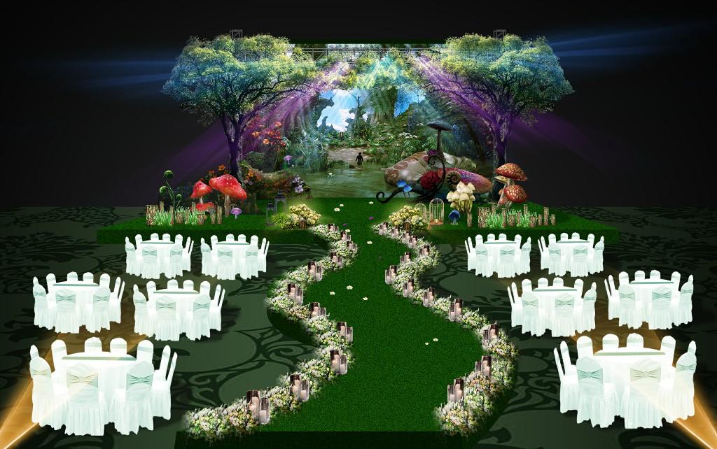 万达希尔顿婚礼秀设计