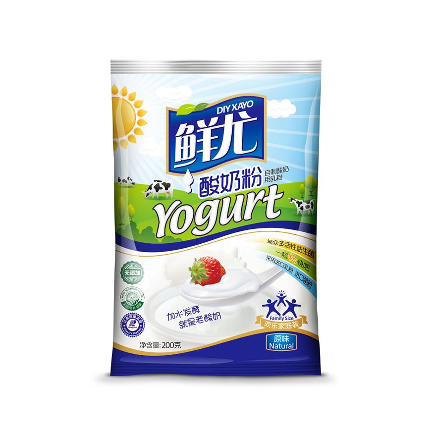 鲜优酸奶粉