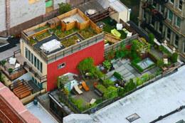漂亮的屋顶花园设计