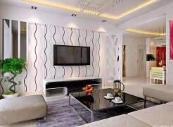 客廳吊頂裝修風格介紹,客廳吊頂及電視墻造型學習參考