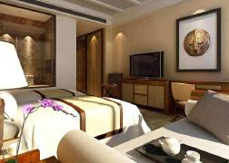专业度假酒店客房空间装修设计