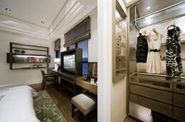 140平米大4房样板房装修图片欣赏