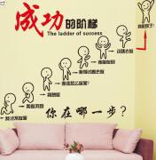 企业办公室墙面装饰贴画设计分享