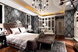 精美卧室壁纸装修效果图