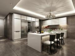 126平现代家装厨房设计欣赏