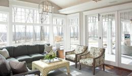 北欧风格室内世界窗户装修欣赏