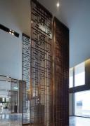 酒店大堂屏风家具装饰图片