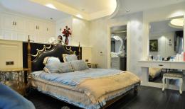 欧式复古风格卧室衣柜设计