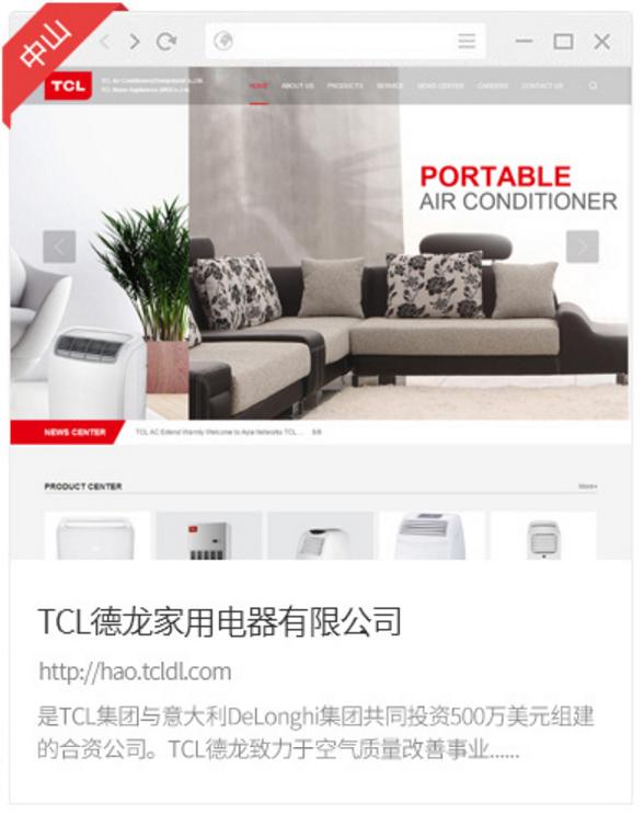 TCL德龙家用电器有限公司