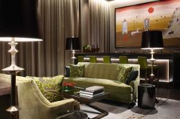 酒店套房窗帘设计效果图