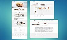 餐饮企业网站