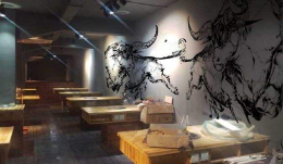 餐厅手绘墙