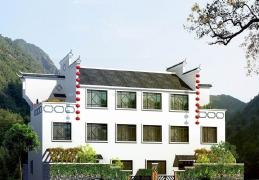 简约风格农村三层房屋设计效果图