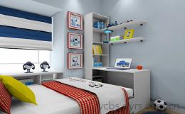 2018几套儿童房装修效果图设计欣赏