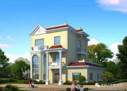6套新农村别墅设计图和预算,这么修倍儿有面子!