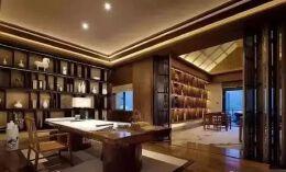 书房装修效果图设计,最近比较流行的书房设计!