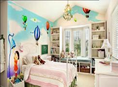 儿童房手绘墙如何设计?儿童房手绘墙材料如何选择?