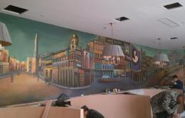 餐厅手绘墙设计技巧 餐厅手绘墙设计要点