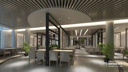 简约创意餐厅设计|餐饮空间设计