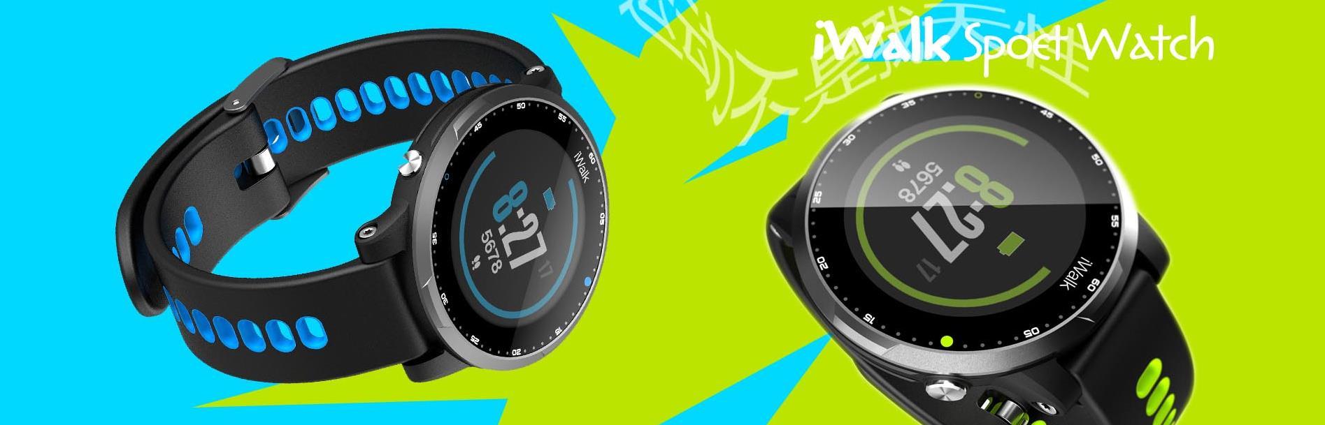 iWalk Sport Watch  智能运动手表
