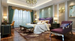 别墅设计案例-欧式风格