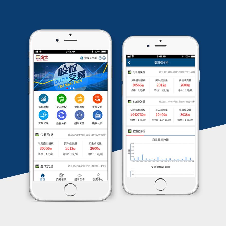 盛世股权app