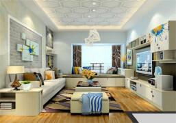 现代简约客厅装修效果图 营造简约优雅的现代生活空间