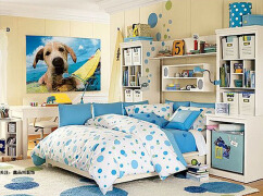50平米小户型装修效果图 小户型卧室装修案例