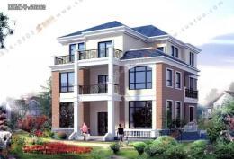 20套高大上的新农村自建房别墅户型图