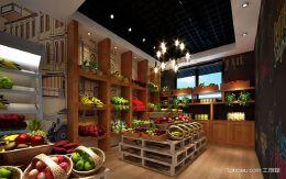 水果店这样装修生意火爆,水果店装修效果图欣赏