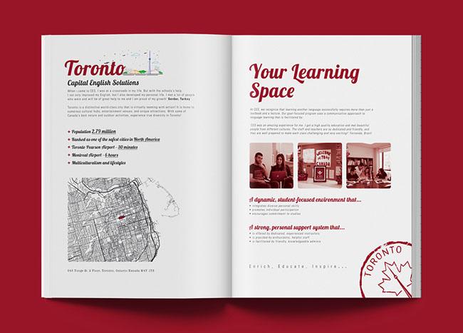 CES英语培训机构画册设计欣赏 英语培训机构画册欣赏